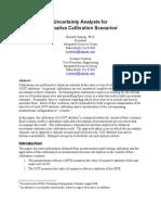 Calibration Scenarios
