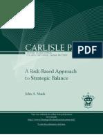 A Risk-based Approach to Strategic Balance Pub1039