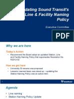 Presentation - Resolution R2021-14 Station Naming