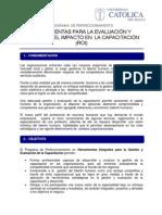 04 herramientas para la evaluacin y medicin del impacto en  la capacitacin _roi_ rgua