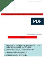 T. 5. LA SEGUNDA REVOLUCIÓN INDUSTRIAL Y LA ERA DEL IMPERIALISMO
