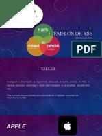 taller 3 ejemplos de RSE