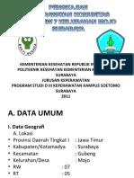Mini Lokakarya Kep. komunitas RT 5 RW07 Kelurahan Mojo Surabaya