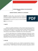 PARECER TECNICO JURÍDICO - PJ LUIS EDUARDO MAGALHÃES - PRÁTICA DE TIRO DESPORTIVO POR CRIANÇA E ADOLESCENTE