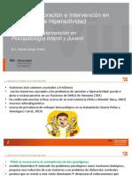 VALORACION E INTERVENCION EN TRASTORNOS DE HIPERACTIVIDAD