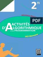 Cahier Des Activités d'Algorithmique TI