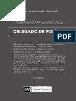 DELEGADO DE POLICIA - GABARITANDO A PROVA DISCURSIVA