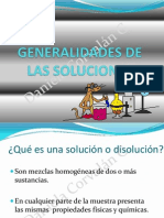 2. Generalidades de las soluciones