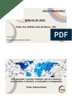 Slides WebAula