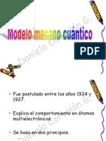 5. Modelo atómico actual y nº cuanticos