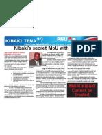 Kibaki Mungiki MoU
