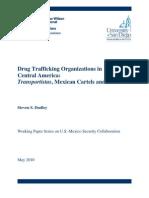 Drug Trafficking Organizations in Central America