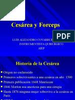 Cesarea y Forceps