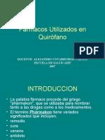 Fármacos Utilizados en Quirófano