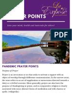 PPP Prayer Points