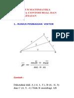 10 Rumus Matematika Beserta Contoh Soal Dan Penyelesaiannya