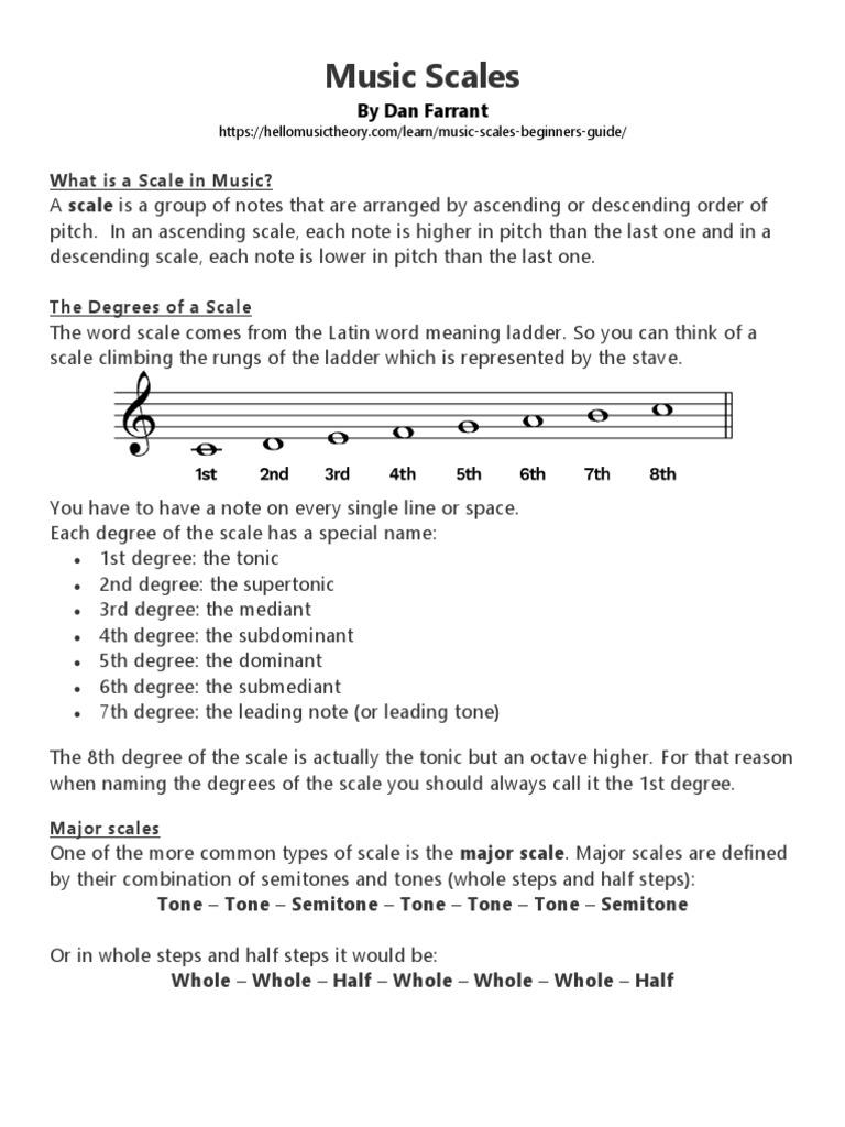 PURSUE Module 20   PDF   Scale Music   Musical Forms