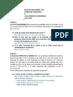 Ejercicio Taller en Aula Remota No. 1 - Analisis Financiero - Uts - Septiembre de 2021