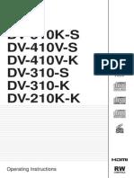 DV-310-S DV-410V-S DV-510K-S