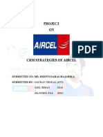CRM PROJECT ON AIRCEL
