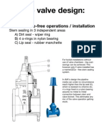 AVK Gate Valve Maintenance-Free Design Concept