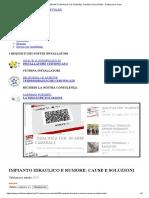 IMPIANTO IDRAULICO E RUMORE_ CAUSE E SOLUZIONI - Professional Team