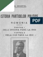 Istoria partidelor politice în România