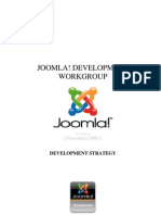 Joomla! Development Strategy.v.1.0
