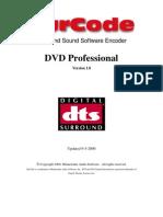 SurCode DTS DVD Pro Manual