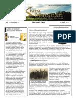 RCBKS Bulletin Vol. 19, No. 32