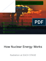 Dangers of Nuclear Plants in  India