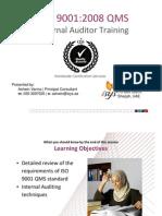 B0 9001 Auditor Training