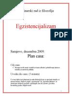 EGZISTENCIJALIZAM_-seminarski