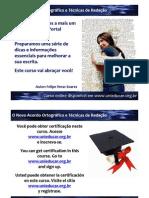 curso online unieducar tecnicas de redacao e o novo acordo ortografico
