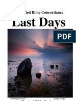 53171403 LAST DAYS Topical Bible Study