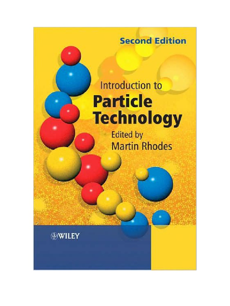 Introduction to particle technology 2nd ed martin rhodes powder introduction to particle technology 2nd ed martin rhodes powder substance sphere fandeluxe Image collections