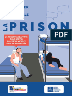 25 recommandations prison
