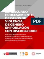 MIMP UNFPA El Adecuado Procesamiento de Casos de Vbg en Poblacion Con Discapacidad