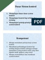 (1) Dasar Dasar Sistem kontrol [Compatibility Mode]