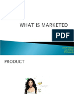 WHAT IS MARKETED - UNIT 1