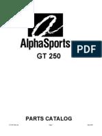 GT250 Parts Manual