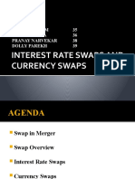INTEREST RATE SWAPs AND CURRENCY SWAPs