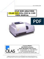 CILAS User Manual