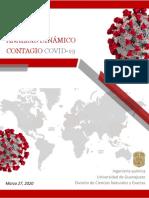 Análisis Dinámico contagio COVID-19 control