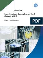 Vw - 253 Inyeccion Directa de Gasolina Con Bosch Motronic Med 7