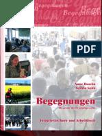 Begegnungen Deutsch Als Fremdsprache B1+ Integriertes Kurs Und Arbeitsbuch