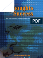 thoughts for success