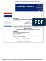 internet-signalement.gouv.fr - Portail officiel de signalements de contenus illicites - Accusé de réception