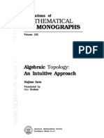 Algebraic Topology: An Intuitive Approach (Translations of Mathematical Monographs, Volume 183)
