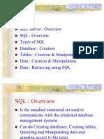 SQLIntroduction